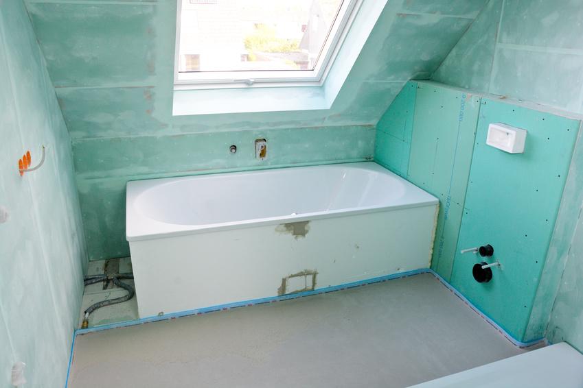 Pose placo BA13 salle de bain Marseille